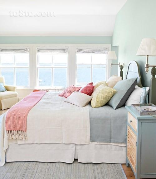 北欧别墅卧室装修效果图