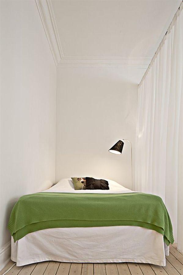 80平小户型小卧室装修效果图大全2014图片