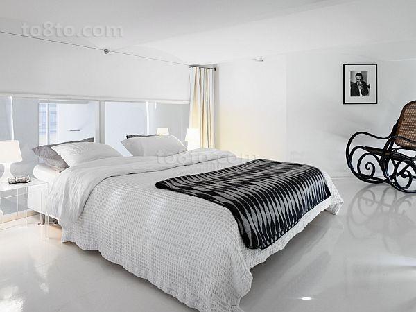 80平男士单身公寓卧室装修效果图大全2012图片