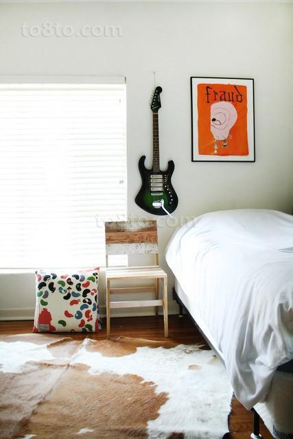 小户型蜗居 清新简约的卧室装修效果图