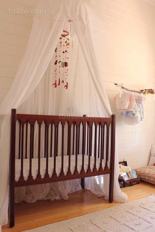 帐篷式宝宝儿童房装修效果图