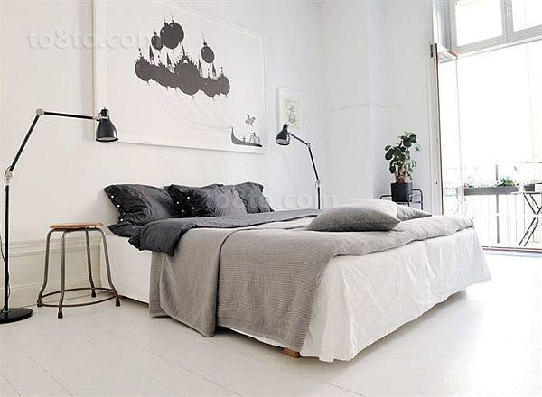 单身公寓卧室装修效果图大全