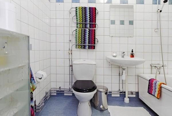 80后大爱的小户型厕所瓷砖效果图大全