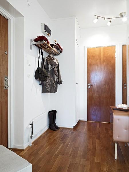 进门玄关木地板贴图