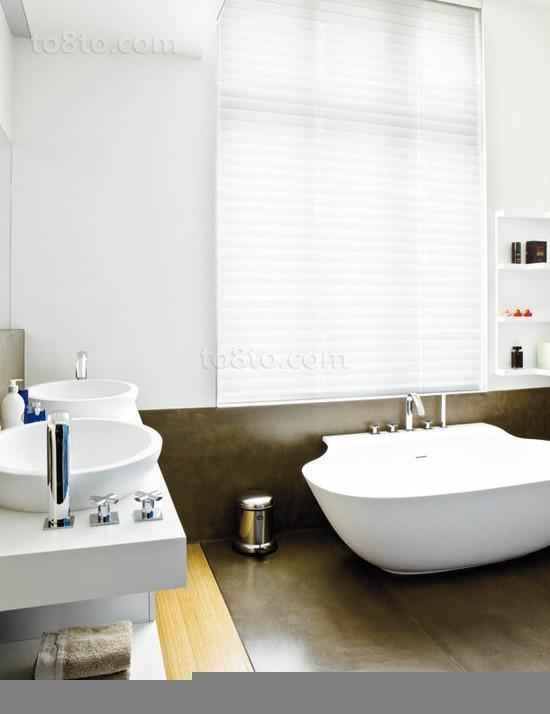 三室两厅家庭卫生间装修效果图