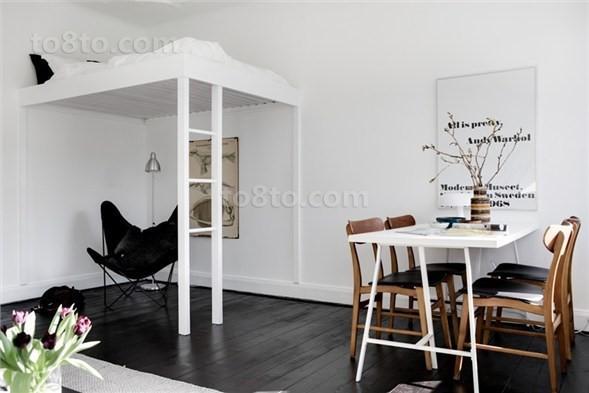 30平超小户型餐厅装修效果图大全2014图片