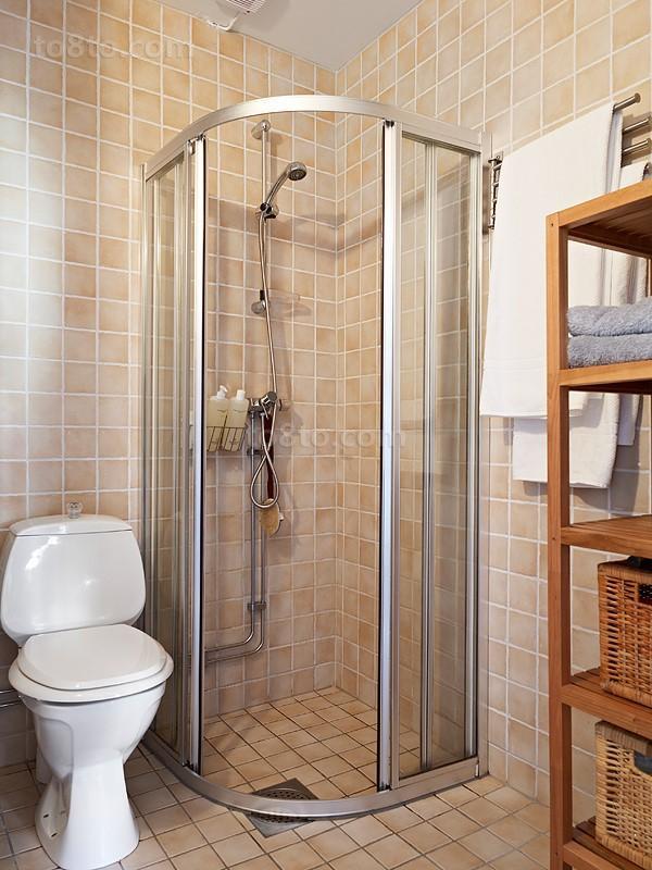干湿分离卫生间设计效果图欣赏