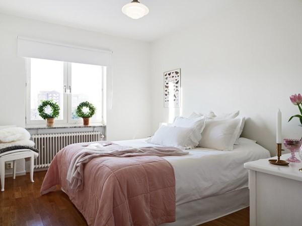 54平米紧凑型单身公寓卧室装修效果图大全2012图片