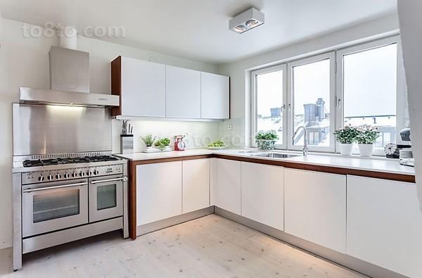 141平米简约风格厨房橱柜装修效果图