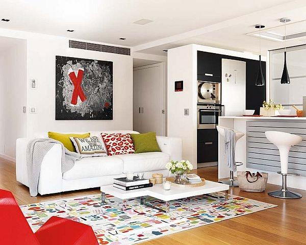 80平小户型客厅装修效果图