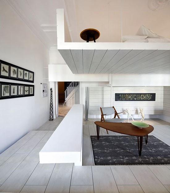 复式楼现代创意餐厅装修效果图大全2014图片