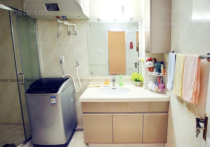 小卫生间装修效果图 洗手间装修效果图