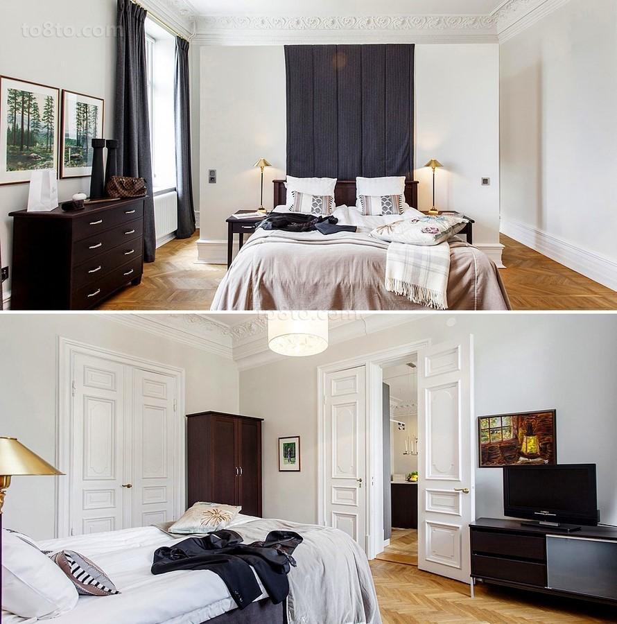 四居室卧室装修效果图大全2014图片 自然温馨