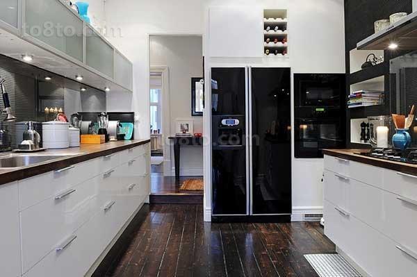 两室两厅8平米厨房橱柜效果图