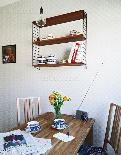 46平米简约小资单身公寓简约餐厅装修效果图