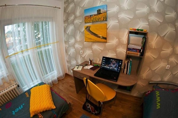 90平小户型书房装修效果图大全2014图片