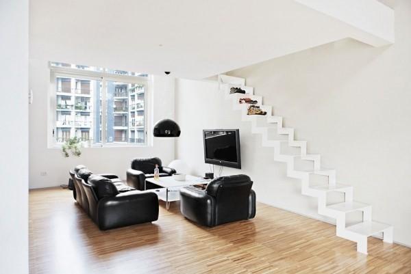 复式楼优雅的客厅装修效果图