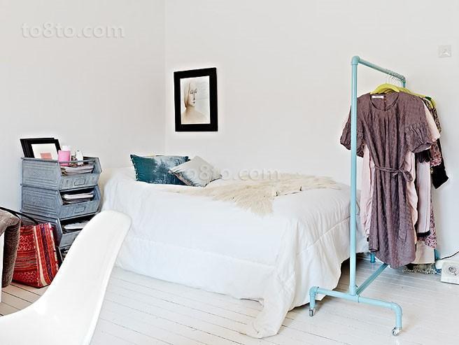 70平单身公寓卧室装修效果图大全2014图片