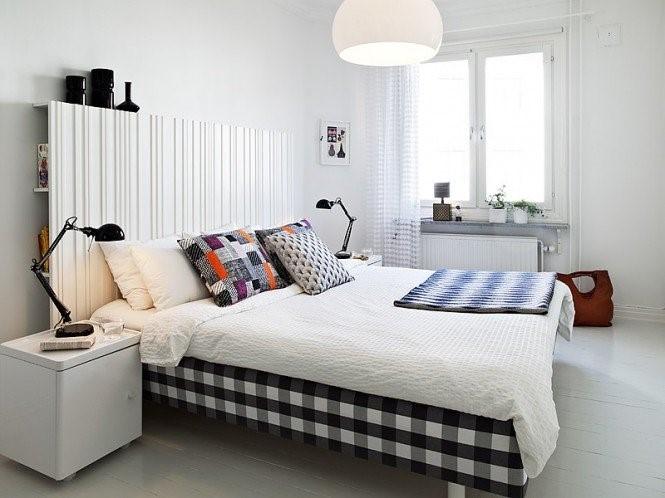 瑞典时尚三室两厅温馨卧室装修效果图设计