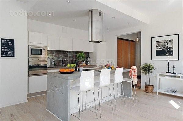 90平单身公寓餐厅装修效果图大全2012图片