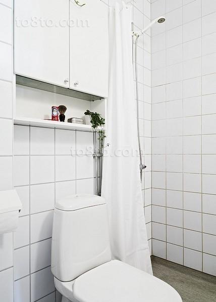极简小卫生间设计装修效果图