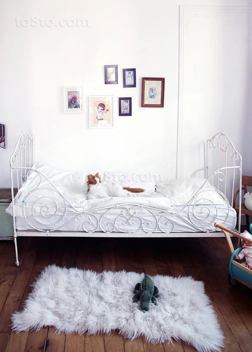 二室一厅可爱儿童房装修效果图大全2014图片