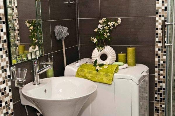 90平小户型厕所装修效果图大全2014