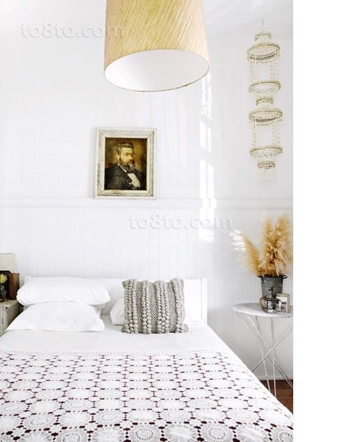 6万打造77平米现代简约风格卧室装修效果图大全2014图片