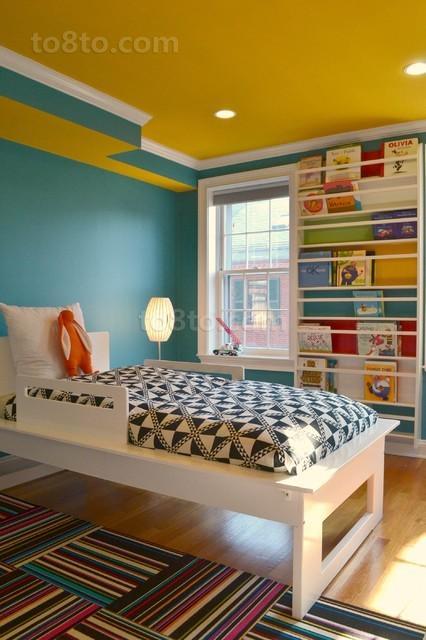 4万打造现代清新风格卧室装修效果图大全2012图片