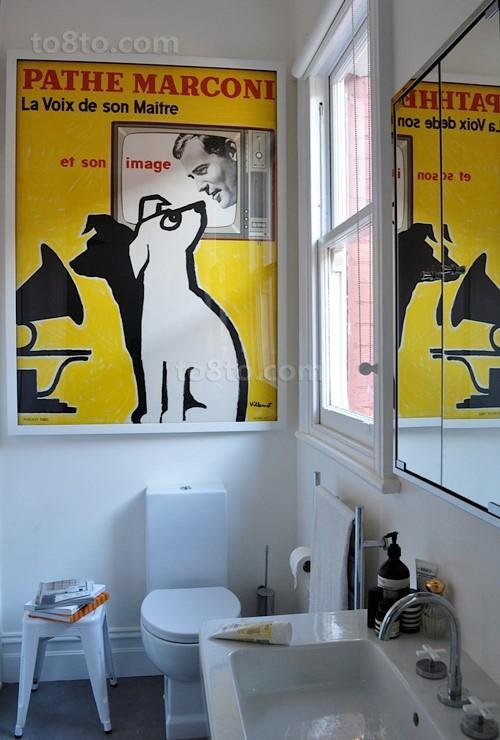 复式楼美式风格卫生间装修效果图大全2012图片