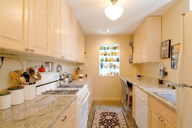 10万打造90平米欧式风格厨房装修效果图大全2014图片