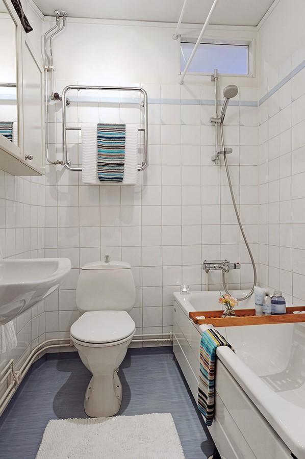 80后精心打造小户型家庭厕所装修效果图