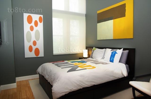 3万打造60平现代风格卧室装修效果图大全2014大全