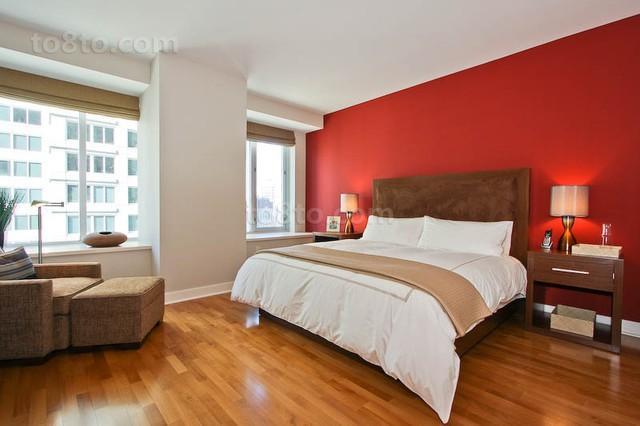7万打造90平米现代风格卧室装修效果图大全2012图片