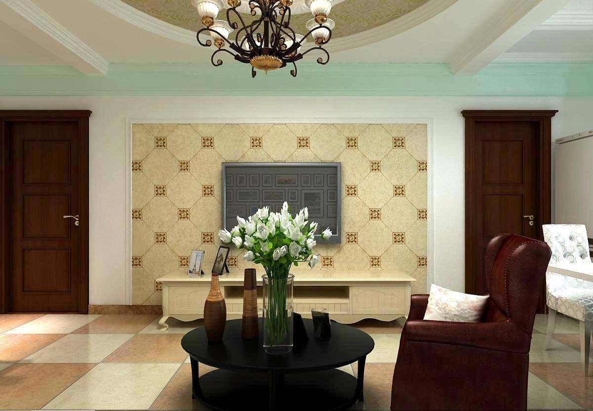 精选82平方二居客厅混搭装修图片