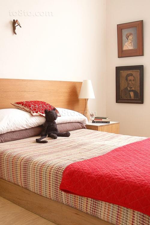 小户型家庭小卧室装修图片大全2014图片