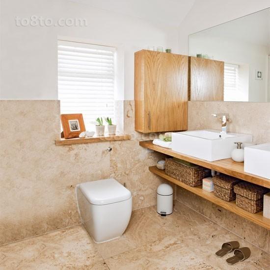 两室一厅厕所装修效果图大全2014图片