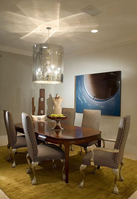 欧式现代豪华别墅图片餐厅吊顶装修效果图
