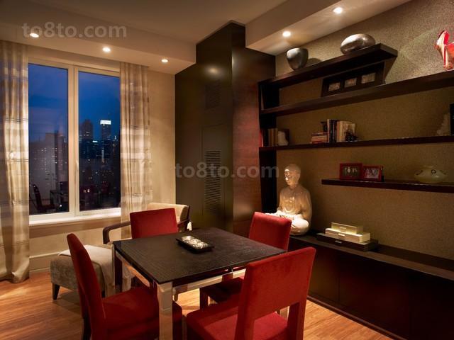 现代风格二居餐厅装修效果图