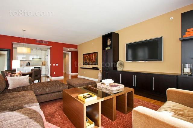 7万打造90平米现代风格客厅装修效果图大全2012图片