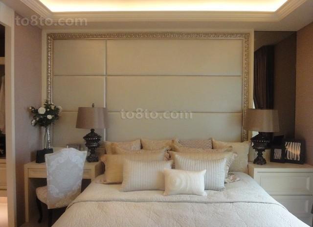100平米欧式风格卧室装修效果图大全2013图片
