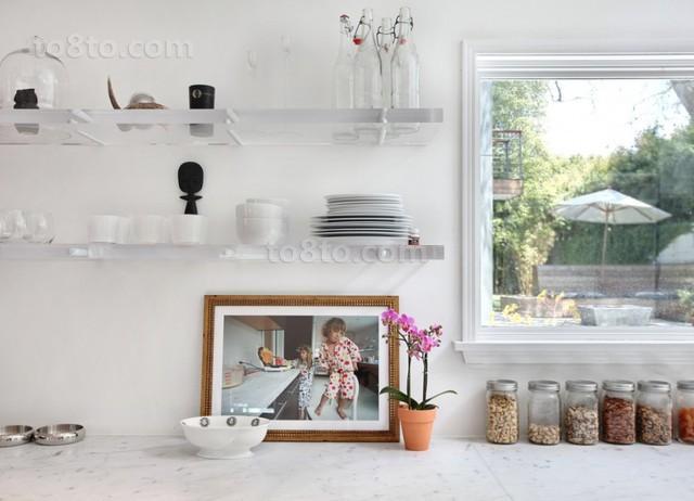 小户型北欧风格厨房装修效果图大全2014图片