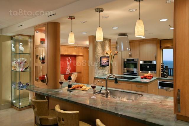 6万打造现代现代风格餐厅二居装修效果图大全2014图片