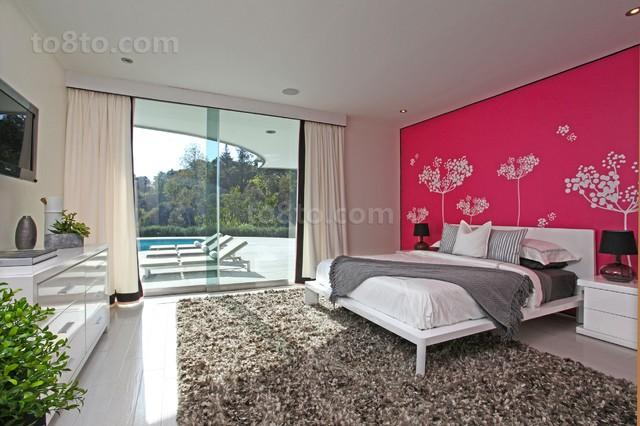 别墅主卧室卧室装修效果图大全2013图片