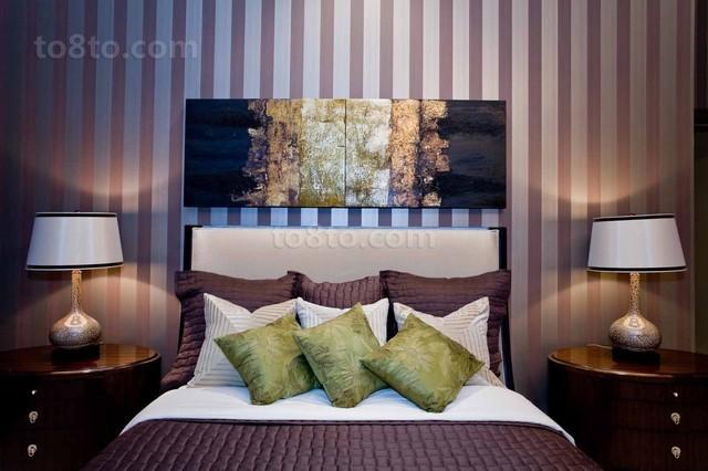 89平现代简约卧室装修效果图大全2013图片
