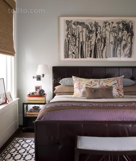 2013最新小户型简约卧室装修效果图