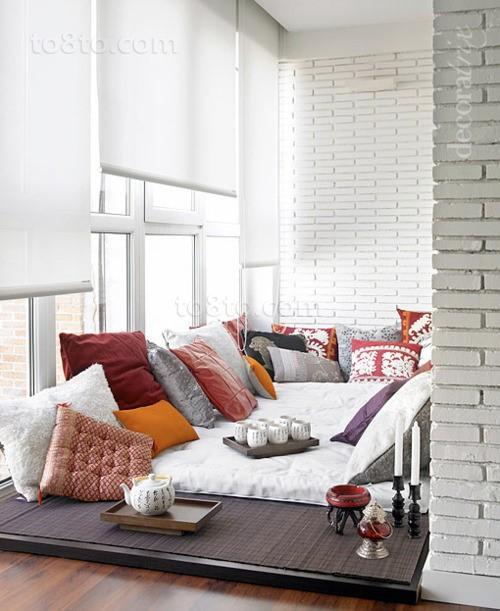 现代简约风格休闲区榻榻米装修设计