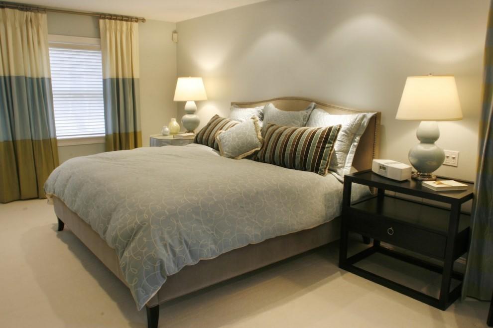 欧式现代豪华别墅图片卧室装修效果图