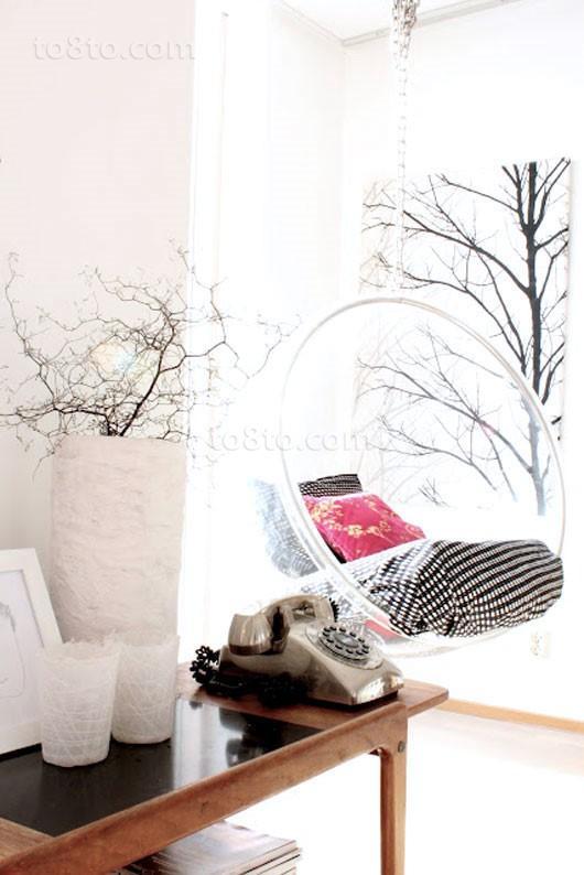 小三居创意休息室装修效果图 浪漫无限