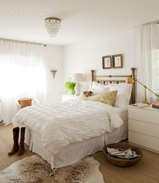 小户型北欧风格温馨的卧室装修效果图